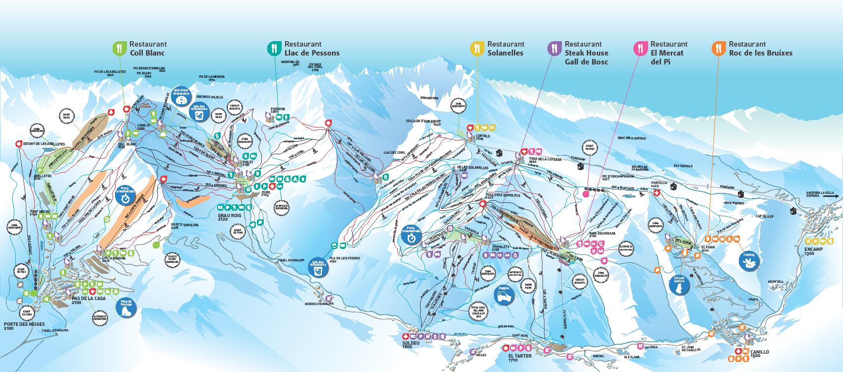 Grau roig Andorra  city photos gallery : Pas de la Casa Grau Roig Pas de la Case Ski Resort Esquí Andorra ...